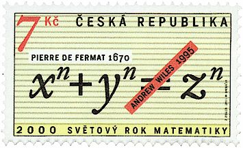 Vignette by Nadia Budde Carl Friedrich Gauß on a 10 DM bill. Stamp commemorating the proving of Fermat's Last Theorem by Andrew Wiles