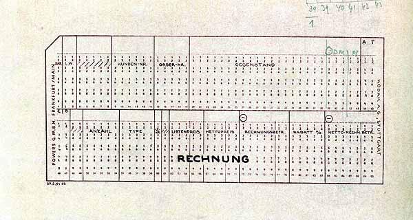 HNF - Lochkartensysteme - Die Frühzeit der Datenverarbeitung