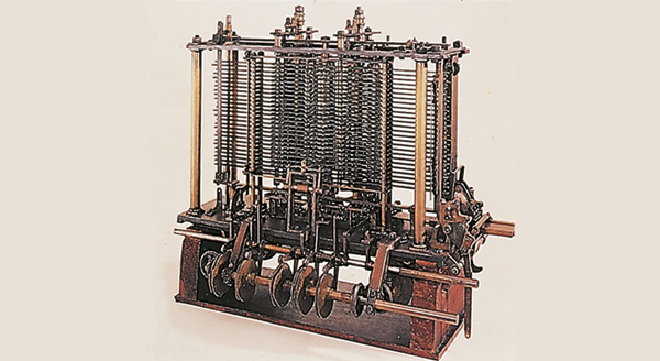 Part of the arithmetic unit of the Analytical Engine